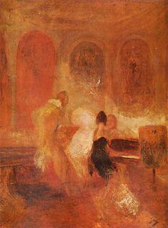TICMUSart: Music Company, Petworth - William Turner (1835) (I. M.)