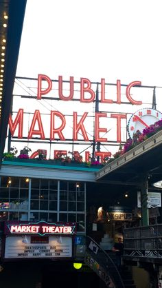 Pike Place Market Seattle 2016