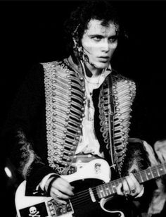 I can't help it! I'm a bit obsessed with Adam Ant, haha