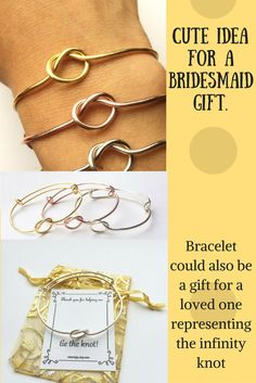 this is such a cute idea for a bridesmaid gift. The girls can wear these anytime. A timeless gift for anyone really. #wedding #bridesmaid #gift #ad
