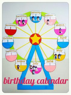 class decoration charts 2018 - New Deko Sites Classroom Decoration Charts, Class Board Decoration, Classroom Charts, School Decorations, Classroom Themes, Toddler Classroom Decorations, Circus Theme Classroom, Birthday Chart For Preschool, Birthday Chart Classroom