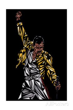 Freddie Mercury Prints at AllPosters.com
