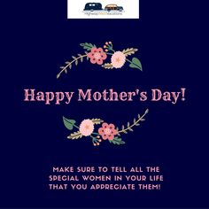 Happy Mother's Day from your Highway West Vacations team! We hope all mothers enjoy a day of relaxation & celebration! #HappyMothersDay