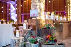 A Rustic Boho Wedding in New York via TheELD.com