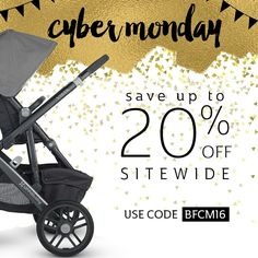 do NOT miss this sale! It's your chance to save big on the hottest baby gear! You can save up to 20% sitewide when you shop now through Cyber Monday! Use code BFCM16 at checkout.  . Questions? Our baby gear experts are here to answer them! Call us at 877-PISH-POSH. We're here till 9pm EST tonight! 😀😀  *Restrictions apply - see site for details! www.pishposhbaby.com