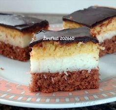 Zobrazit detail - Recept - Kokosové kostky Eastern European Recipes, European Cuisine, Homemade Cakes, Nutella, Tiramisu, Tea Party, Cheesecake, Food And Drink, Baking