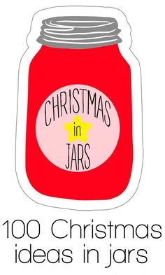 100 Christmas Ideas in jars