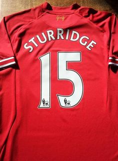 f4c6b51d651 Relive Daniel Sturridge s 2013 2014 Premier League season with this  original Warrior Liverpool home football