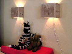 sloophout lampen leuk!