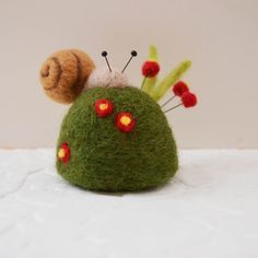 felt snail - Google Search