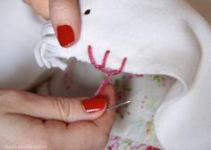 How to sew blanket stitch