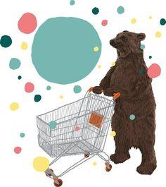 Bear illustration by Chris Thornley