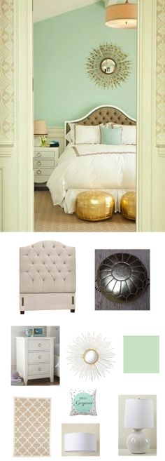 mint edition gold bedroom decorbedroom mintbedroom ideasmint goldgreen - Mint Green Bedroom Decorating Ideas
