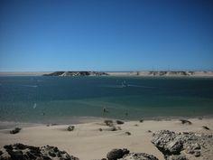 Dakhla lagoon, a great spot for kitesurfing!