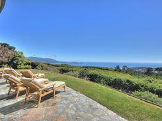 Pebble Beach house rental - Back yard Carmel By The Sea, Beach Vacation Rentals, Backyard, Patio, Pebble Beach, Beach Holiday, Ideal Home, Beach House, Golf Courses
