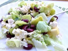 Fazolový salát Potato Salad, Salads, Potatoes, Ethnic Recipes, Fit, Potato, Salad, Chopped Salads