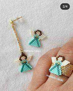 Bead Embroidery Jewelry, Beaded Embroidery, Beaded Earrings, Beaded Jewelry, Rakhi Design, Brick Stitch, Beads, Awesome, Bracelets