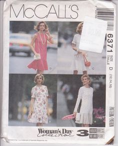 Easy sewing pattern for drop waist straight by beththebooklady, $5.99