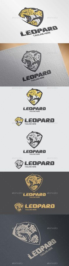 Leopard Logo Template