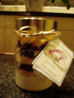 Cookies in a jar 2 'Het recept.'