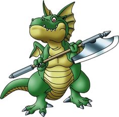 View an image titled 'Hacksaurus Art' in our Dragon Quest VIII art gallery featuring official character designs, concept art, and promo pictures. Character Concept, Character Art, Character Design, Dragon Warrior Monsters, Dragon Quest X, Dragon Family, Dragon Scale, Harry Potter Art, Little Monsters