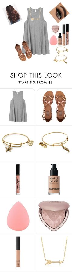 """official a style icon 😊"" by ajgswim on Polyvore featuring RVCA, Billabong, Alex and Ani, NYX, MAKE UP FOR EVER, Zodaca, Too Faced Cosmetics, NARS Cosmetics and Roberto Coin"
