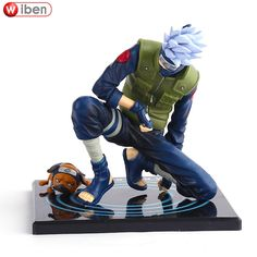 22.25$ Buy here - http://alidop.shopchina.info/go.php?t=32722629329 - Anime Naruto Hatake Kakashi PVC 13cm Action Figure Collection Model Toy Figure Doll Children Gift ACGN Brinquedos 22.25$ #aliexpressideas