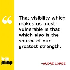 "explore-blog: ""The great Audre Lorde on silence and the empowering vulnerability of visibility """