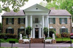 Gran casa del sur de Estados Unidos mansión de Elvis Presley