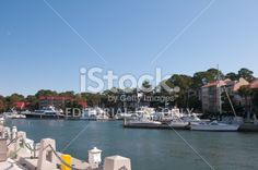 Hilton Head Island Marina, South Carolina, USA Royalty Free Stock Photo