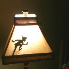 Peter pan! Adorable for a Kids room...Where's Tinkerbell though?