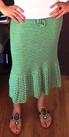 EmmaJean's Minty Green Skirt   free pattern