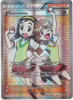 Teammates - 160/160 - XY Primal Clash PREORDER SHIPS 2/6 #Pokemon