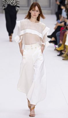 CHLOÉ READY TO WEAR SPRING SUMMER 2017