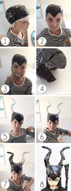 awesome DIY Maleficent Costume