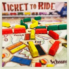 Ticket To Ride, Classic Theme, The Expanse, February, Games, Top, Gaming, Plays, Crop Shirt