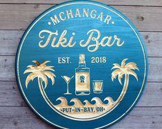 28 ideas diy wood signs beach wedding gifts for 2019 Tiki Bar Signs, Pool Signs, Tiki Bar Decor, Lake Signs, Beach Signs, Beach House Signs, Carved Wood Signs, Wooden Signs, Tiki Bars