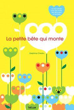 Un livre-jeu d'éveil avec de grands décors en motifs, des rabats à soulever et des découpes : dans un champ de fleurs, parmi les pommes et les poires ou sous les n&ea