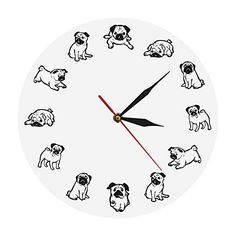 #Sponsored Puppy Clock.