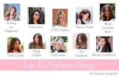 Top 10 Fashion Blogs