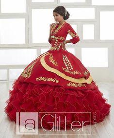 bac6fdf30 Ivory Blue Strapless Floral Charro Dress by House of Wu LA Glitter 24042