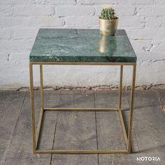 Couchtisch RANA Wohnzimmertisch Beistelltisch Metall grüner Marmor Industrial in Möbel & Wohnen, Möbel, Tische | eBay