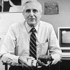 Computer Mouse Inventor Douglas Engelbart passed away