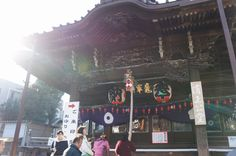 January 1, 2014 Temple in Tokyo