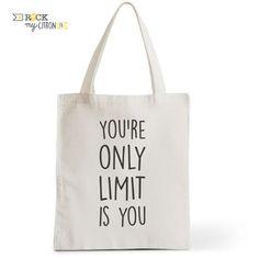 Tote Bag Rock my Citron,  No Limit, Cadeaux Fêtes, Anniversaires, Naissances