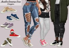 LumySims: Semller Shoes Low All • Sims 4 Downloads