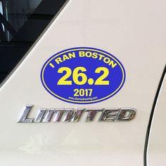 25K Oval Sticker Vinyl Decal Running Marathon Sprint Track Run 13.1 26.2 50k Fun