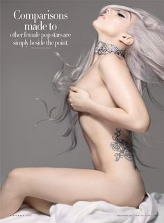 "Lady Gaga much more than just a ""pop star"" - gorgeous photography"