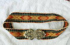 FINT ELDRE BUNADBELTE STOR SPENNE I 830 SØLV VESTFOLD BUNAD Celtic Patterns, Norway, Belts, Costumes, Band, Accessories, Fashion, Kunst, Moda
