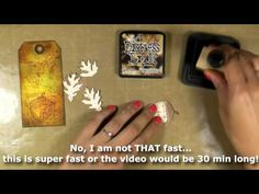 How-to video: Autumn blueprint